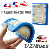 Air Filter Replacement for Briggs&Stratton 491588S 399959 Lawn Mower Filter
