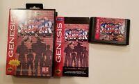 Street Fighter II (2)(Regular Ed.) SEGA Genesis Game w/ Manual & Clamshell Case