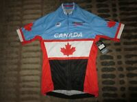 Triathlon Canada Project Cycling Jersey Adult Medium MED NEW