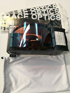 OAKLEY FRONTLINE PRIZM SAPHIRE IRRIDIUM REPLACEMENT LENS  TEAR OFFS COMBO