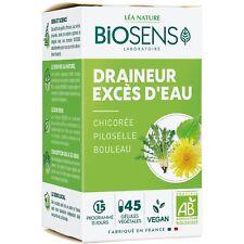 Complètement alimentaire bio  Biosens draineur excés d'eau bouleau chicorée