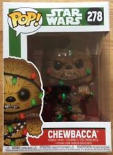 Funko Pop Chewbacca Christmas BNIB #278. POP Movies. Star Wars.