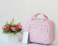 Hello Kitty Women Makeup Case Business Travel Make Up Bag Luggage Suitcase NEW