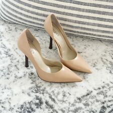Guess Carrie Nude Leather Pumps Size 8M - Excellent Condition