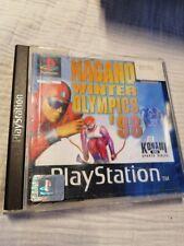 Nagano WinterOlympics 98  - Sony Playstation 1/PS1