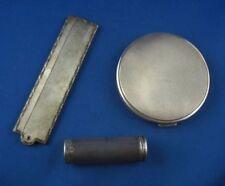 3-tlg. Schmink Set Kosmetik Set Scheuerle 925er Sterling Silber
