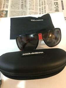 DOLCE & GABBANA DG RED WOMEN'S SUNGLASSES with case