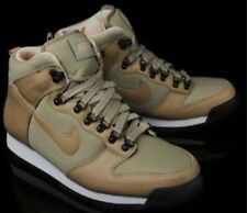 Nike Lava Dunk Hi Men's sz 12 Khaki/White/Beige Leather 434732 200 Vintage