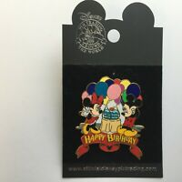 Happy Birthday - Mickey and Minnie Mouse Disney Pin 3982
