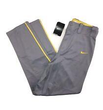 Nike Baseball Pants Mens Size Small Grey NWT