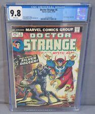 DOCTOR STRANGE #5 (Silver Dagger app) CGC 9.8 NM/MT White Pages Marvel 1974