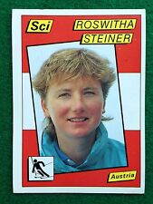 SUPERSPORT 1986 n 173 ROSWITHA STEINER AUT Sci , Figurina Sticker Panini NEW