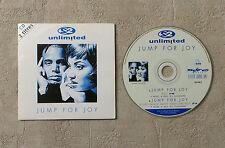 "CD AUDIO MUSIQUE / 2 UNLIMITED ""JUMP FOY"" 1996 CDS 2T SCORPIO MUSIC 192 082.2"