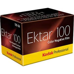 Kodak Professional Ektar 100 Color Negative Film | 35mm Size Roll, 36 Exposure -