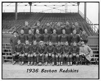 NFL 1936 Boston Redskins Team Picture Fenway Park 8 X 10 Photo Free Ship