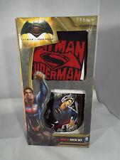 DC Comics Batman Vs Superman Sock & Mug Gift Set New Official Men's Gift