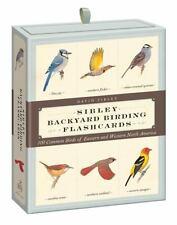 Sibley Backyard Birding Flashcards: 100 Common Birds of Eastern and Western Nort