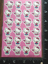 HELLO KITTY STICKERS BY SANRIO, ONE SHEET STICKERS, BEAUTIFUL DESIGNS #KITTY86