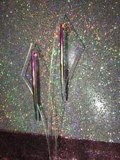 Fashion Earrings Metallic Rainbow Dangle