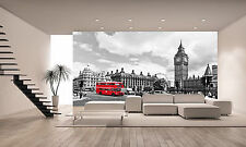 London Bus Wall Mural Photo Wallpaper GIANT DECOR Paper Poster Free Paste