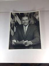 Robert McNamara, Secretary Of Defense, Autographed 8 X 10 Vintage Photo  PSA/DNA