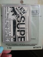 Model Technologies 1:32 Mig21 Fishbed Crew Access Ladder Pe Detail #Mt0078