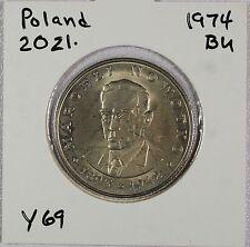 Poland - 1974 - 20 Zlotych Coin - Marceli Nowotko (Socialist) - Uncirculated