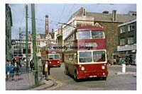 pt8564 - Cardiff Trolleybus - KBO 955 in City Centre - photograph 6x4