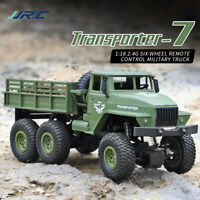 JJRC Q68 Q69 RC 1:18 2.4G 6WD Tracked Remote Control Off-Road Military Truck Car