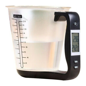 Digital Kitchen Electronic Measuring Cup Scale Household Jug Scales with LCD