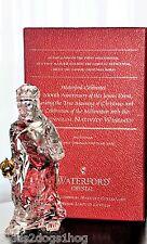 Waterford 2000 Millennium Nativity Wiseman Crystal Balthazar with Box Ireland