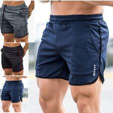 351e402816 Men's GYM Shorts Training Quick Dry Sport Workout Casual Jogging Pants  Trousers