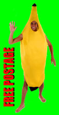 BANANA FANCY DRESS COSTUME ADULT STAG PARTY FRUIT NEW
