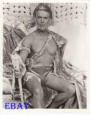 George Nader barechested VINTAGE Photo Beyond Atlantis