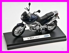 BLITZ VERSAND BMW F650ST / F 650 ST dunkelblau Welly Motorrad Modell 1:18 NEU