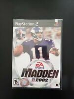 MADDEN 2002 PLAYSTATION 2... NEW, UNOPENED.. FACTORY SEALED...!!! AWESOME GAME.!