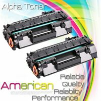 2PK Replacement CE505A 05A Toner Cartridge For HP LaserJet P2035n P2050 P2055dn