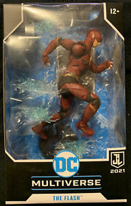 """DC Multiverse McFarlane The Flash Justice League Zack Snyder Movie 7"""" Figure NEW"""
