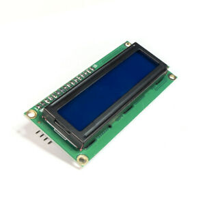 LCD I2C Display 1602 or 2004 Blue ideal for  Arduino or  Raspberry Pi UK Seller