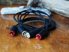 Câbles de modulation RCA / RCA Tellurium argent Teflon 1m l'Atelier Acoustik