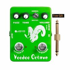 JOYO JF-12 Ultimate Fuzz and Octave Guitar Effect Pedal