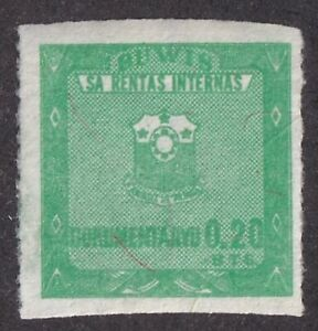 Philippines Republic Document Revenue Bft #105 unused 20s green 1975 cv $6.50