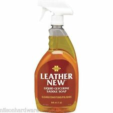Farnam Leather New 32 Oz Liquid Glycerine Horse Saddle Soap Cleaner 32602