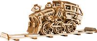 WOODEN CITY® Dream Express mit Schienen, Holzmodellbausatz, Modellbahn, Holzbahn