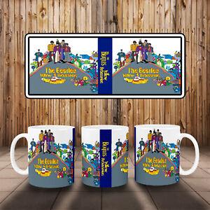 The Beatles Yellow Submarine Album Art Mug Ideal Gift