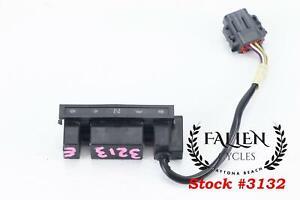 2005 Harley Softail Tank Console Dash Indicator Lights 68113-99C *VIDEO