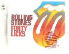 "ROLLING STONES ""Forty Licks"" US 2 CD + exclusive Interview Disc Set sealed"
