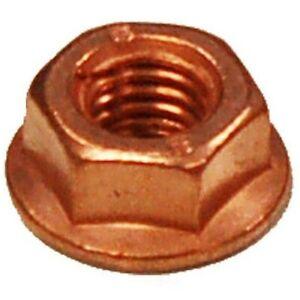 Exhaust Nut - Bosal 258-038 M8X1.25 Copper Clad Self Locking Flange Nut