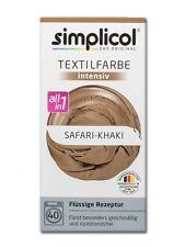 Simplicol 1815 Textilfarbe Intensiv All-in-1 flüssig, Safari-Khaki