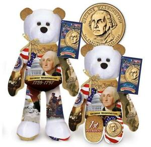 George Washington Dollar Coin bear  #1 in current series of 36